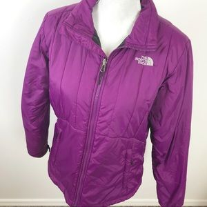 The North Face Violet Lightweight Puffer Jacket L